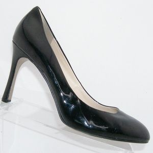 Nine West 'Drusilla' black man made pump heels 9M